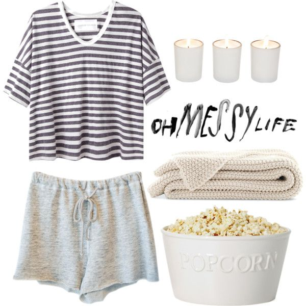 """Sleepover"" by vogue-city on Polyvore"