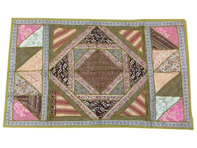 US $76.99 New with tags in Home & Garden, Home Décor, Tapestries #tapestry #wallhanging #patchworktapestry #vintagestyle #indiandecor