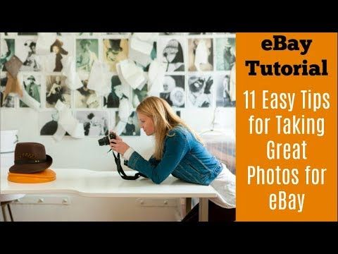 How to Take Photos for eBay: Increase Sales and Save Time - YouTube