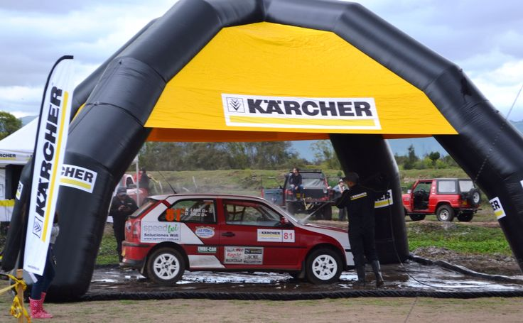 Vw Gti #81 Rally Cross Championship thanks Karcher to clean the rocket