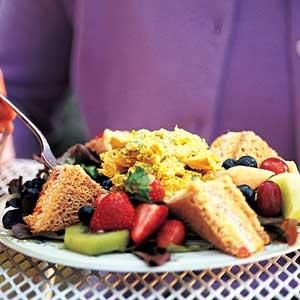 Female friends and relatives of the bride and groom are sure to enjoy this delectable luncheon menu. (Serves 8)