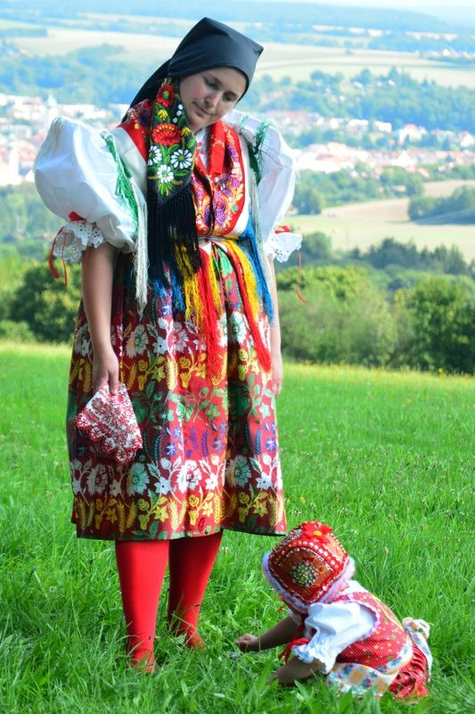 Folk costume from Chodsko (South-West Bohemia), Czechia #folk #costume #traditional #Czechia