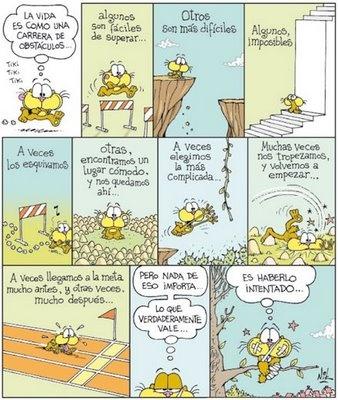 Los obstáculos en la vida