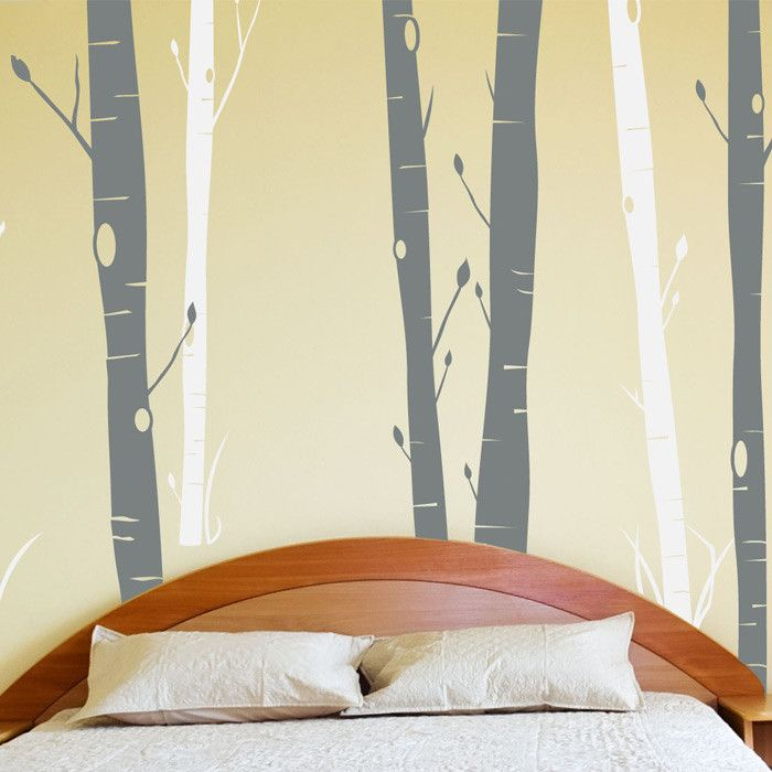 163 best office ideas images on pinterest home projects for Aspen tree wall mural