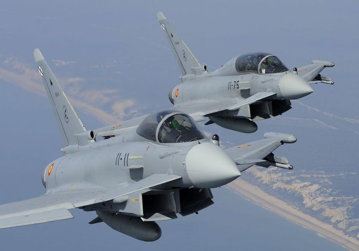 Spanish Air Force Eurofighter Typhoon, 11th Wing.