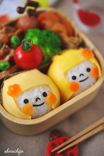Soooooo cute! One way to make rice more interesting!