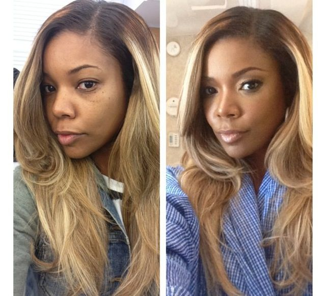 Gab Union's hair. I loveeee this hair color, I want to try this in a couple of months.