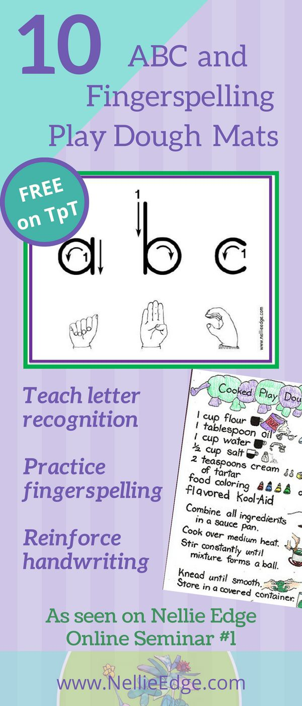 17 best images about sign language and literacy connections on 10 abc fingerspelling and play dough mats available on tpt includes playdough recipe and
