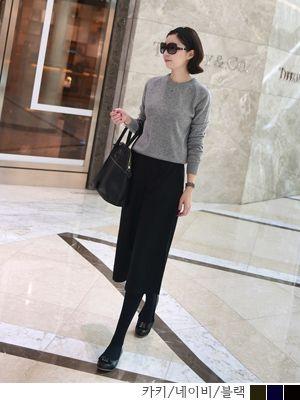 korean fashion online store [COCOBLACK] Zip FlarePT / Size : S,M / Price : 61.75 USD #korea #fashion #style #fashionshop #cocoblack #missyfashion #missy #pants #bottom