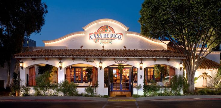 Casa de pico used to be in old town san diego now moved