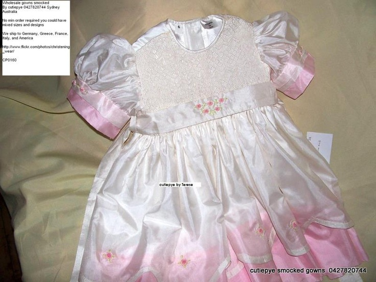 smocked hand embroidered by cutiepye australia 0427820744