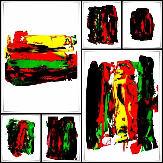 """B-H02 The Collection of drawings with Acrylic on paper"" Black-Hard Artstudio @blackhardartstudio Instagram photos | Websta"