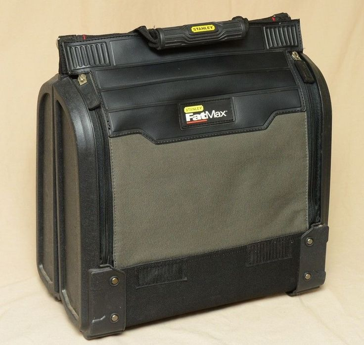 Stanley FatMax Tool Organizer Bag Workstation Reinforced Body Carrying Strap    Home & Garden, Tools, Tool Boxes, Belts & Storage   eBay!