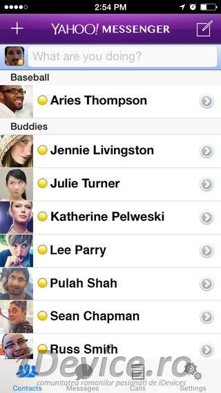 Yahoo Messenger update aduce in sfarsit suport pentru iPhone 5 si nu numai