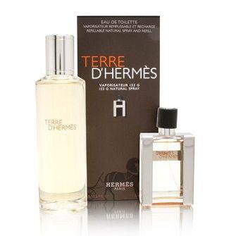SET] Terre D Hermes Parfum by Hermes for Men Pure Perfume 125ml