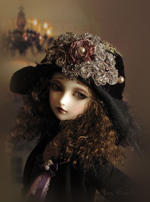 by Jay on DoA and Hat by roweena23 of Fanciful Delights on Etsy