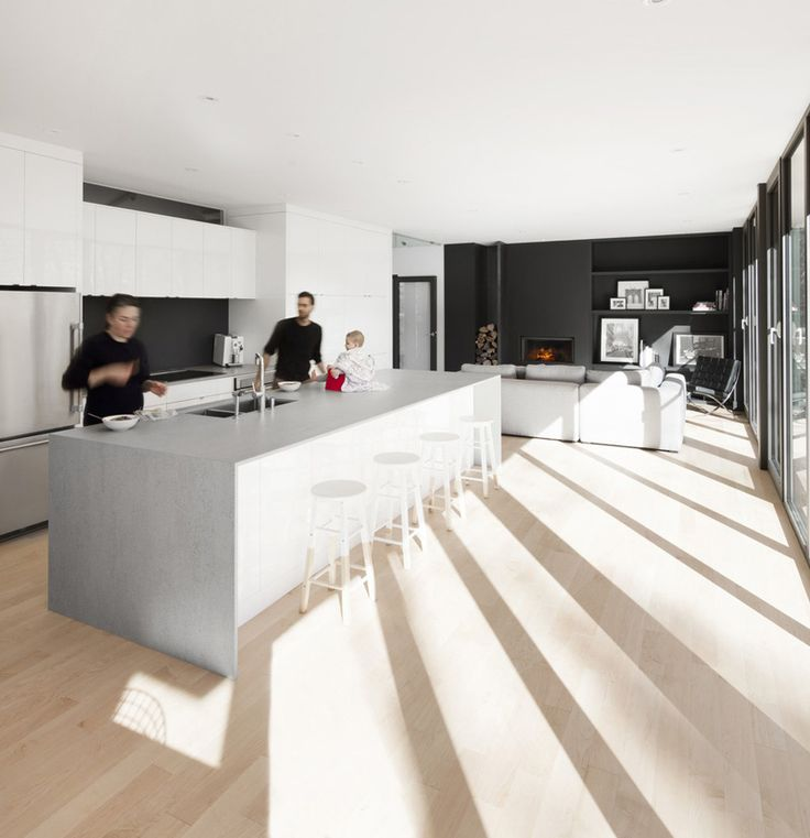 Image 13 Of 15 From Gallery Of KL House / Bourgeois / Lechasseur  Architectes. Photograph By Adrien Williams