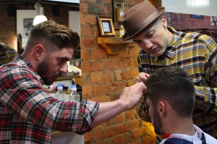Styling with The Barbers Of Modern Britain aka The B.O.M.B Squad.