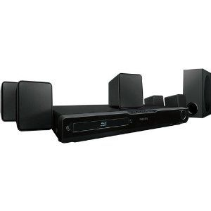 Philips HTS3051BV/F7 Blu-ray Home Theater System, Refurbished by Philips. $119.99. High-definition picture quality and powerful surround sound come your way with this Philips refurbished home theater system. The Blu-ray home theater system provides unbeatable home entertainment from Blu-ray discs and can upconvert your DVDs to nearly 1080p resolution through its HDMI port.