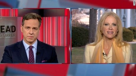 Counselor to President Donald Trump, Kellyanne Conway speaks to CNN's Jake Tapper about Trump's latest attacks on the media.