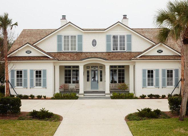 Blue Gray Exterior Paint Colors best 25+ exterior shutter colors ideas on pinterest | shutter
