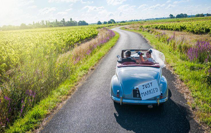 Wedding car inspiration... For more check out www.smartgroom.com #weddingcar #vintagecar