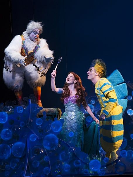 Photo 1 of 19 | The touring cast of The Little Mermaid. (Photo by Bruce Bennett) | The Little Mermaid: National Tour Show Photos | Broadway in Minneapolis