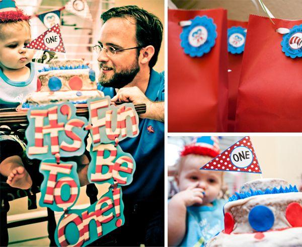 Dr.Seuss Birthday Party idea