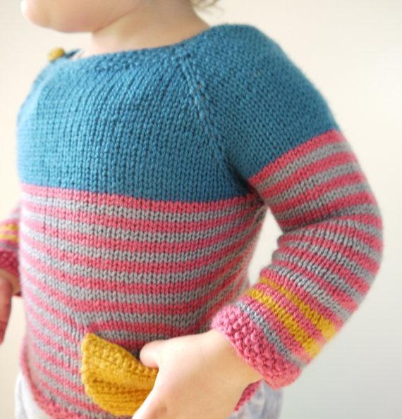 Mustard Pocket Sweater $77