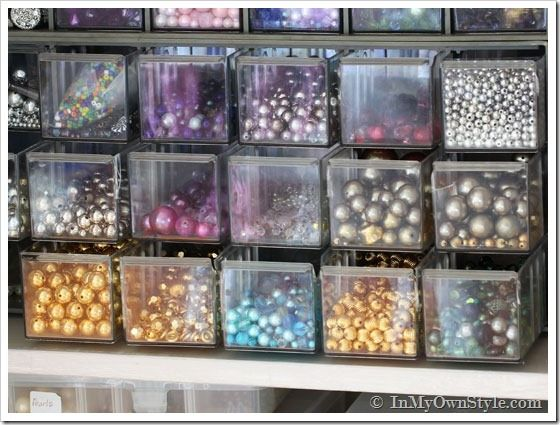 Organizing Ideas: How to Organize Craft Supplies in a Closet | In My Own Style