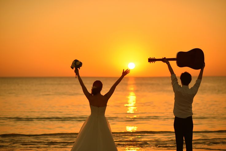 サンセットビーチフォトツアー #sunset #wedding #bali