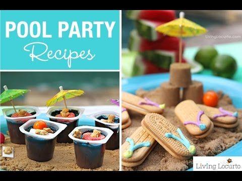 Pool Party Ideas {Fun Food & Printables}