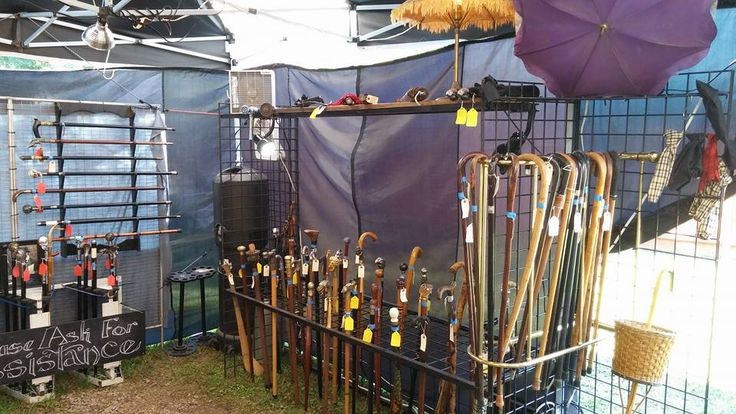 You don't NEED a cane, maybe, but after looking at these, you might WANT one. Look for them on Frodo's Hill