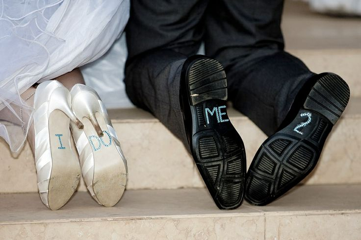 #somethingblue or cute idea for some entertainment during ceremony
