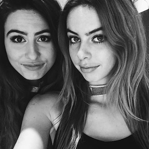 Lauren and Danielle Cimorelli