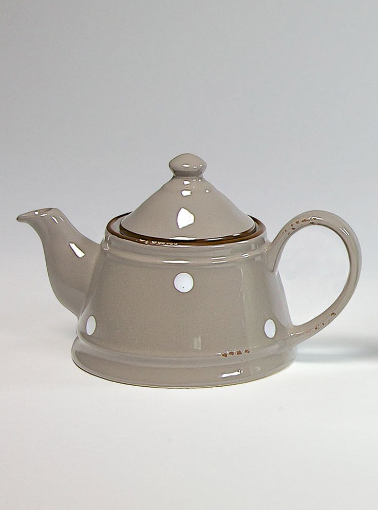 COUNTRY RUSTY BEIGE Teapot