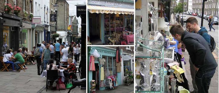 Camden Passage Shops & Markets