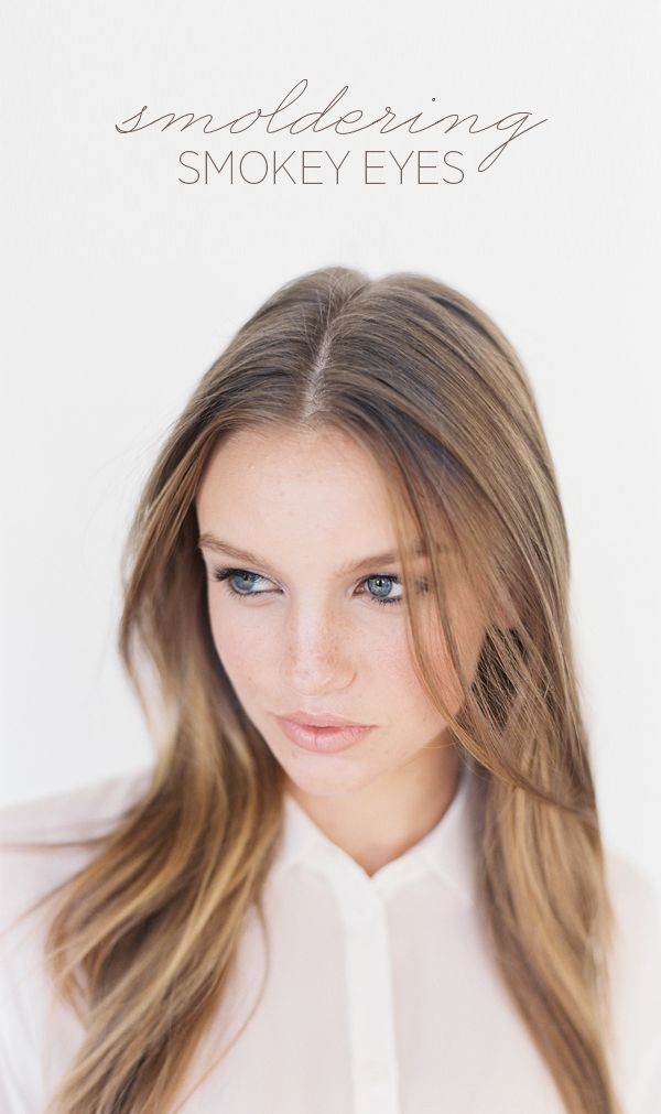 How To Smoldering Smokey Eyes - Once Wed