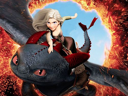 girl toothless has sex with hiccup