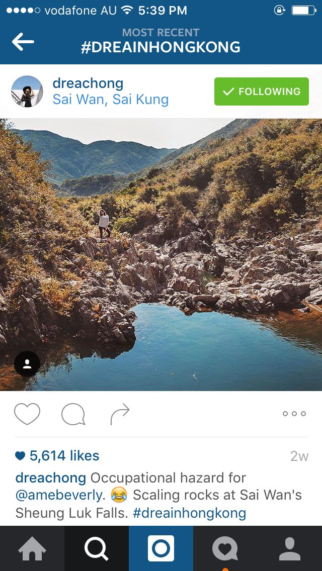 Hiking Sai wun