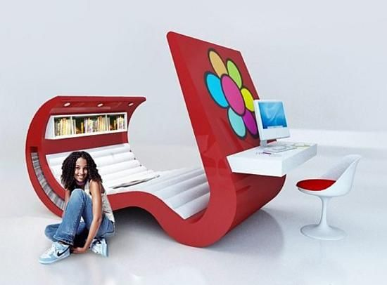 futuristic designtodesign pin multimedia devices with furniture tech hi