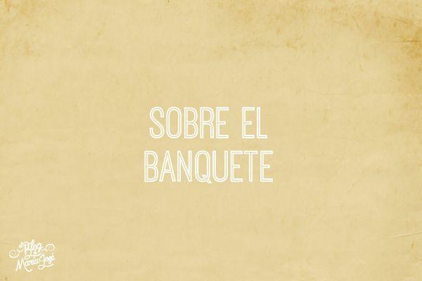 ¿Qué preguntas hacer al elegir el banquete de la boda? Te cuento en este blog #bodas #elblogdemaríajosé #banqueteboda