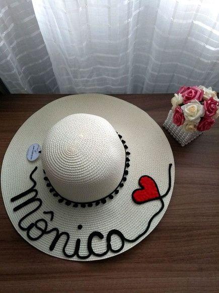 Compre chapéu personalizado no Elo7 por R  65 db11cdeb607