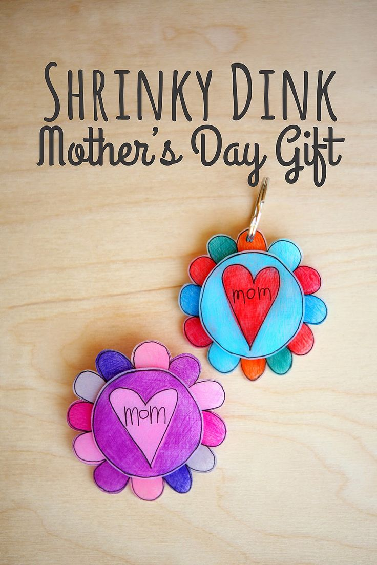 Mother S Day Nail Art Pancreatic Cancer Awareness: Eighteen25: Shrinky Dinks Mother's Day Gift