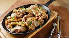Learn how to cook beef liver the easiest and tastiest way possible with this delicious Beef Liver and Mushroom recipe. http://recipes.mercola.com/beef-liver-recipe.aspx