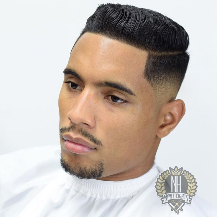 Faded Short Pompadour haircuts for men