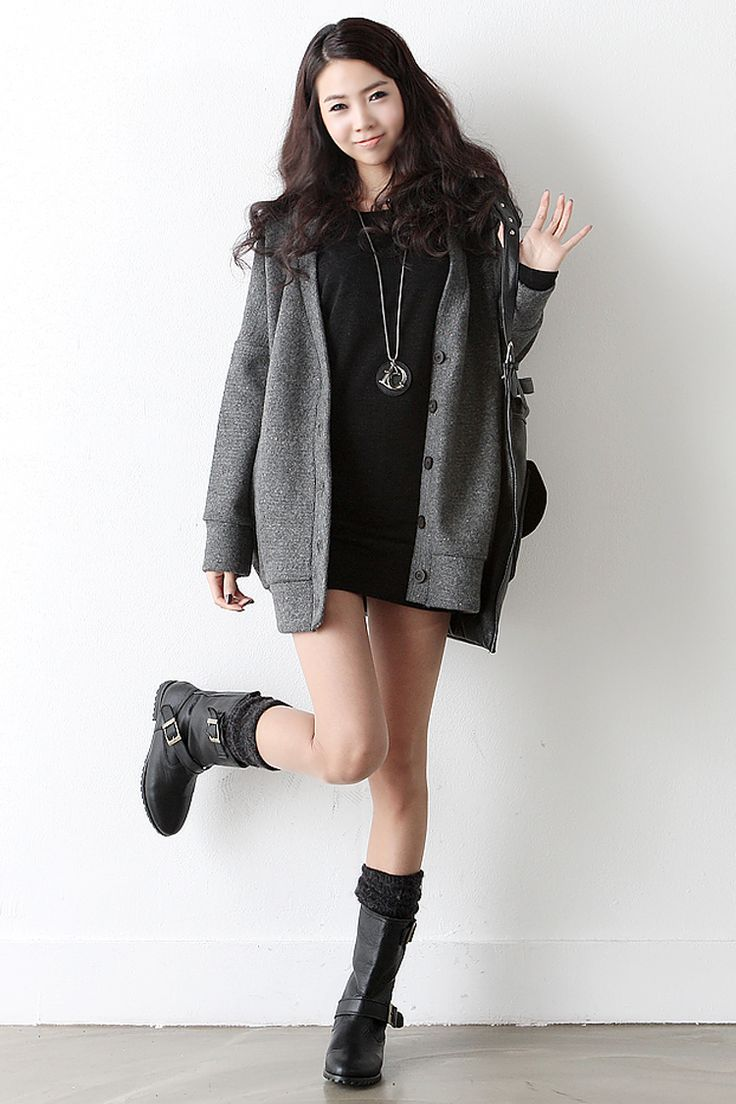 Cute winter Korean fashion.  -Lily.  #streetstyle. #koreanfashion
