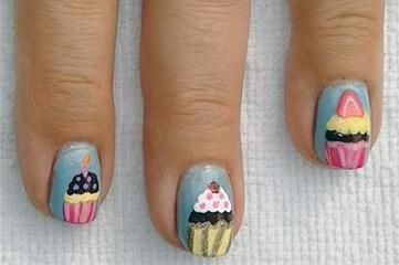 My daughters would love these , what a great idea for a birthday ! #NailArt #FlauntYou #MagicalManicures