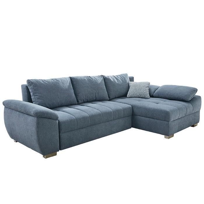 Ecksofa Alster Blau Stoff Ecksofas Ecksofa Sofa