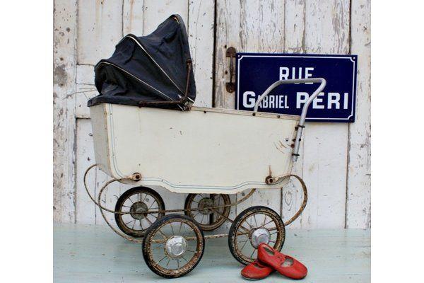 French Vintage Dolls Pram | Vinterior   #vintage